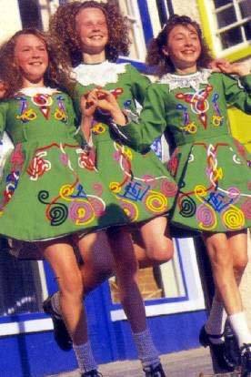 What I think of when I think of Irish girls dancing